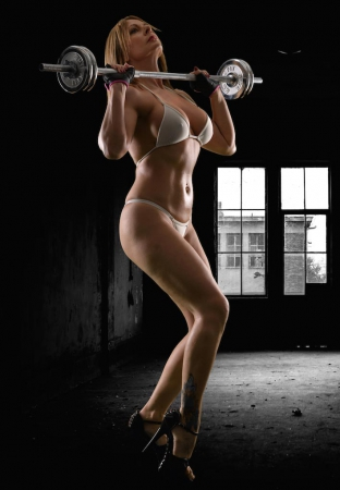 Carly Escort Fitness Shot