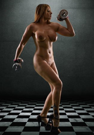 Carly Escort Fitness Shot